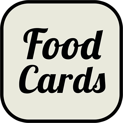 Food and Beverage Cards