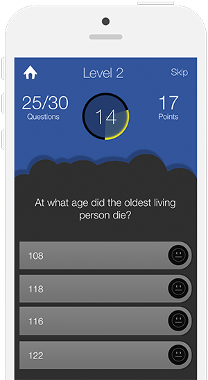 General Knowledge Quiz for iOS and Android